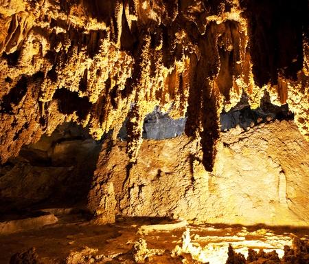 carlsbad: Carlsbad Caverns National Park in USA Stock Photo