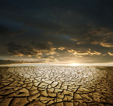 the ground: Drought land Stock Photo