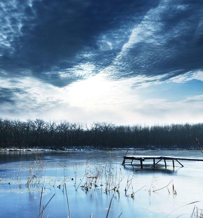 mountain lake Stock Photo - 8407351