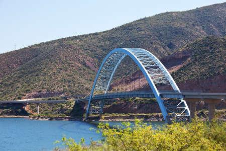 El puente del r�o Gila  Foto de archivo - 8500250