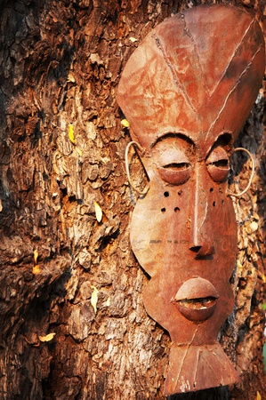 african mask photo