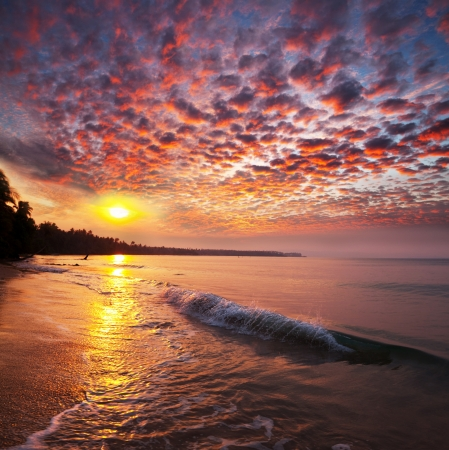 sea at dawn photo