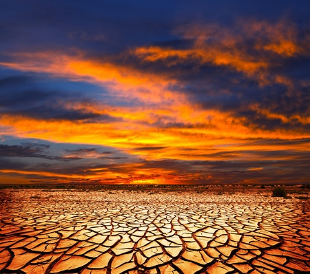 droogte land Stockfoto