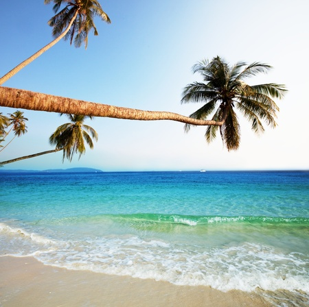 ocean view: Andaman Sea in Thailand