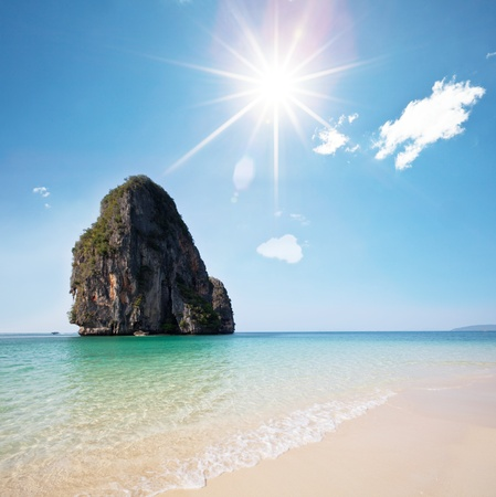 Andaman Sea in Thailand photo