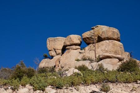 Boulders on Mount Lemmon, Tucson, USA Фото со стока