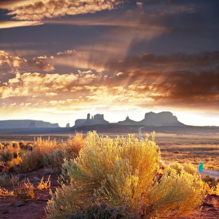 Monument Valley,Utah,USA Stock Photo - 8989295