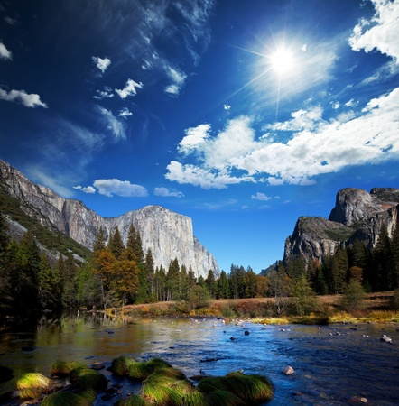 Yosemite in spring Stock Photo - 9075647