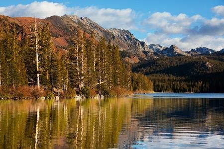 sierra: lake in Sierra Nevada