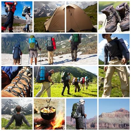 trekking: Hiker girl