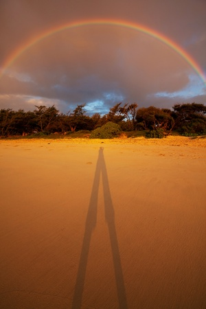 Rainbow on Hawaii photo
