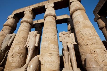 Statue in Luxor Stock Photo - 9668402