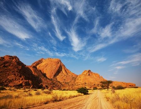 namibia: african landscapes
