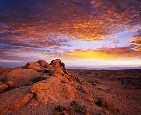 badland: Gobi desert Stock Photo