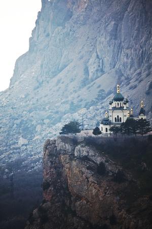 Foros church in Crimea Stock Photo