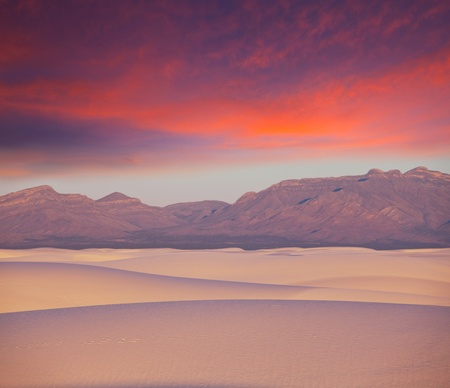 White Sands Park in USA Stock Photo - 9795365