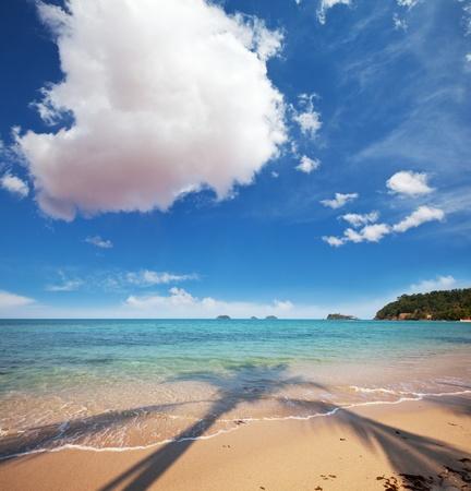 Beach scenery photo
