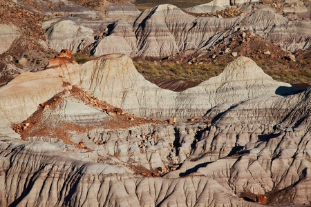 badlands: badlands landscapes Stock Photo
