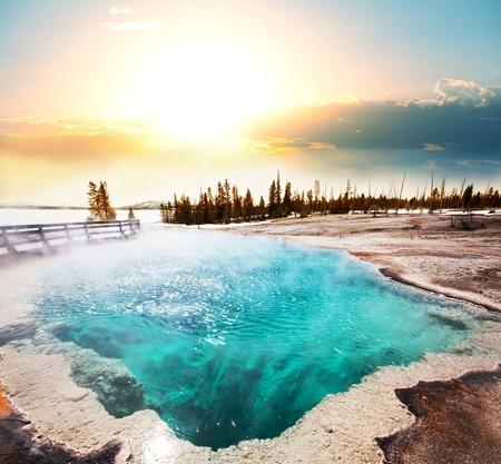 Hot Spring de Yellowstone