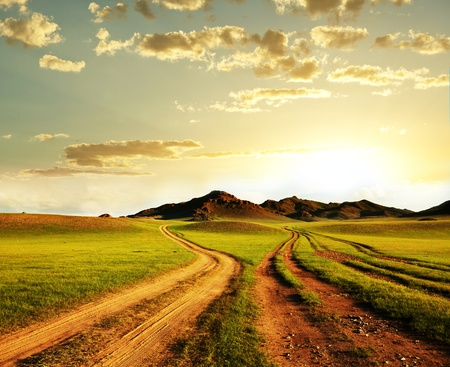 prairie: Mongolian landscapes