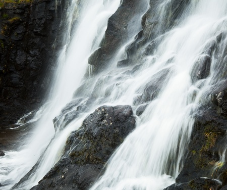 swift: Water cascade Stock Photo