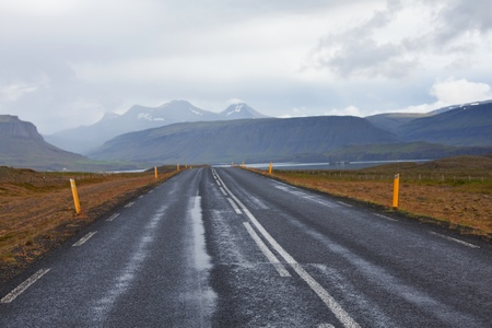 Dramatic icelands landscapes photo