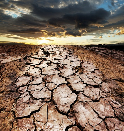 erosion: drought land