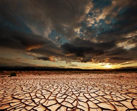 Tierra de sequía Foto de archivo