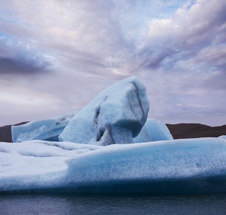 frigid: Glacier in Iceland