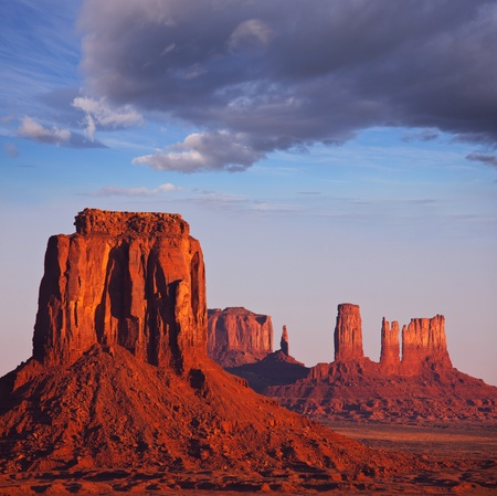 rock formation: Monument Valley,Utah,USA