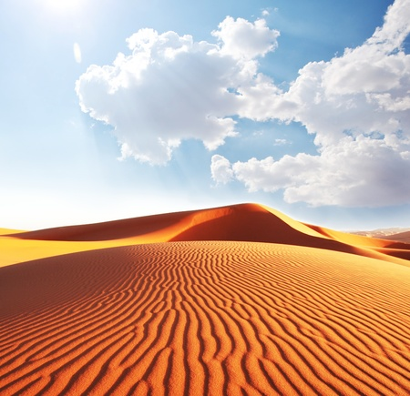 marocco: Sahara desert Stock Photo