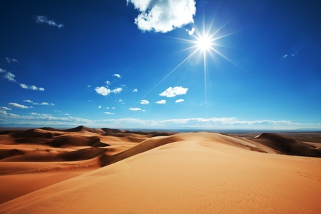 sahara desert: Deserts dune Stock Photo