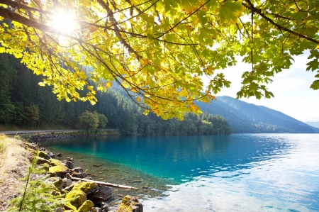 autumn lake Stock Photo - 11164730