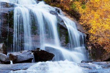 waterfall on Whitney Portal photo