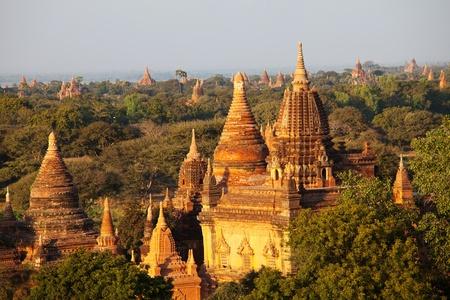 sunsets: Bagan at sunset in Myanmar