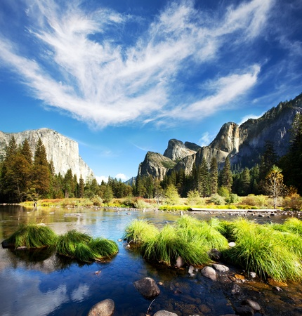 Yosemite landscapes photo