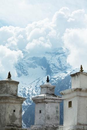 himalaya: Mountains in Sagarmatha region,Himalaya