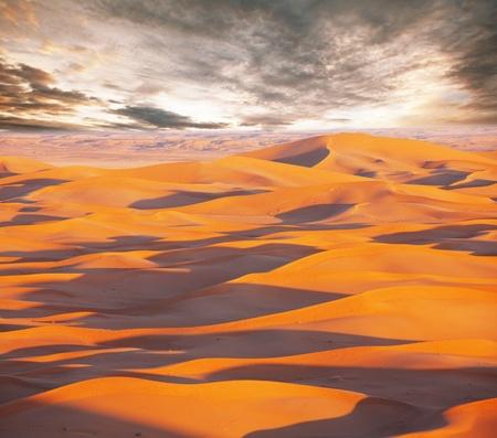 hummock: Sahara desert Stock Photo