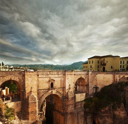 Bridge in Rondo,Spain photo