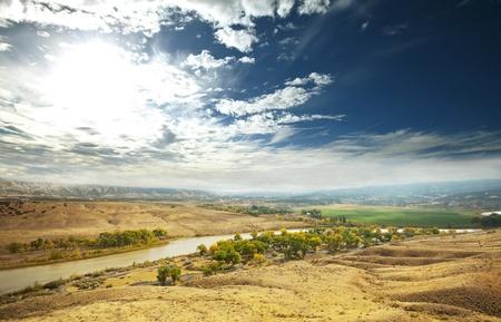 stock vista: Rural landscapes