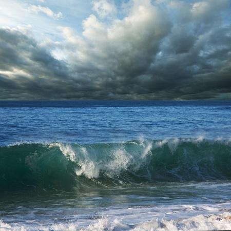 storm on ocean Stock Photo - 12156025