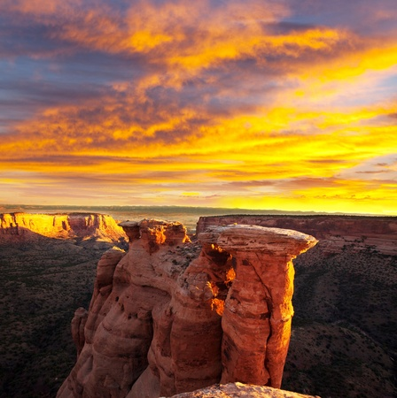 Colorado Monument in USA