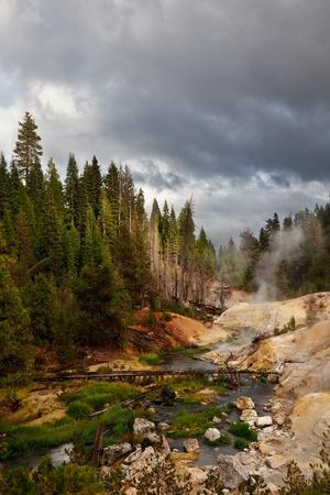 fissures: Lassen Volcanic Park