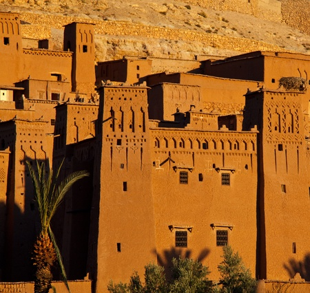 Kasbah of Ait Benhaddou in Morocco photo