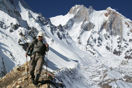 shivling: Hike in Shivaling region