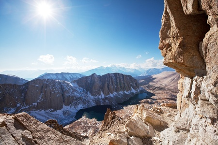 inyo national forest: Mt. Whitney landscapes