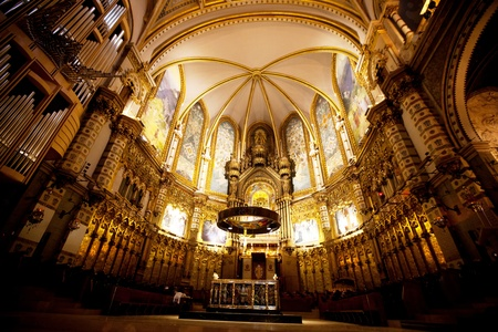 Montserrat monastery indoor