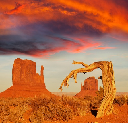 Monument Valley,Utah,USA Stock Photo - 12614864