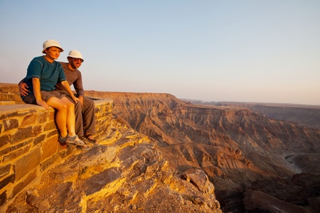 Fish canyon in Namibia