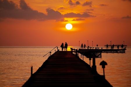 Boardwalk on beach Stock Photo - 13301646